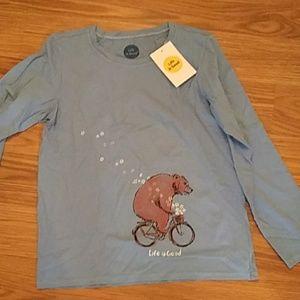 NWT Blue long sleeve shirt